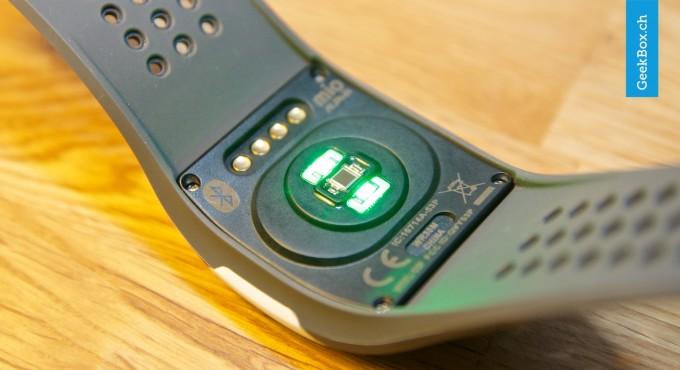 Alpha Pulsuhr von mio (Sensor)