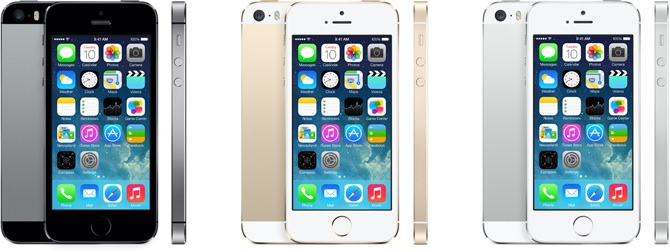 Apple iPhone 5s (Space Grey/Gold/Silver)